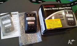 The Livingstone heavy metal effects pedal....as