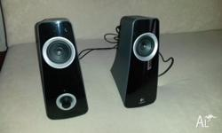 Rarely used Logitech Computer Speakers for sale in a