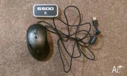 Up for sale is a Logitech G500 gaming mouse. The mouse