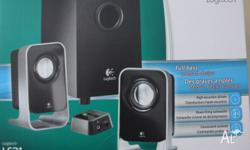 Product Information The Logitech LS21 Speakers provide