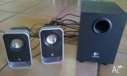 Logitech speaker system - perfect condition - no longer
