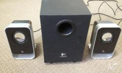 LOGITECH MULTI MEDIA SPEAKERS - Excellent for