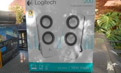 Logitech Z200 Multimedia Speakers and Creative
