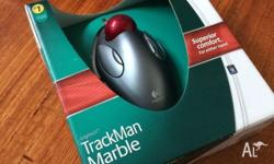 Up for sale is a Brand New Logitech Trackman Marble