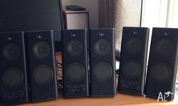 I have 2 sets (ignore picture) of these speakers to