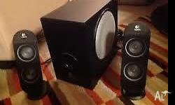 Logitech x-230 Dual Drive Speakers with Subwoofer