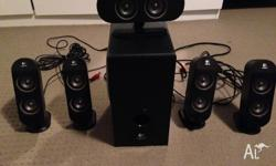 Excellent condition Logitech X-530 5.1 Speaker System
