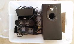 Logitech X-530 5.1 Speakers Great little speakers that