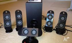 As new Logitech Surround Sound Speakers, excellent
