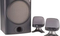 LOGITECH X-220 WIRED SPEAKER SYSTEM PC COMPUTER