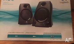 For sale is a brand new never used Logitech z130