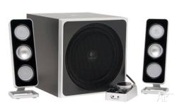 Logitech Z4 computer/audio speakers RRP $499 Good