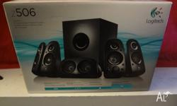 Logitech Z506 5.1 Surround Sound System. These are used