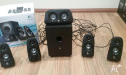 Logitech z506 computer speakers for sale, working 100%