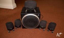 Selling excellent Logitech Z-640 5.1 surround system