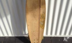I am selling my Sector 9 longboard. Complete. Vintage