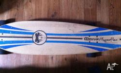 Hey there. I'm selling my board, because I'll have no