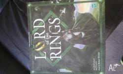 Lord of the rings boardgame used once dusty box but