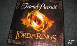 Lord of the Rings Trivial Pursuit board game Only
