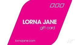 Two Lorna Jane Gift cards: 1x $100 1x $75 Email only