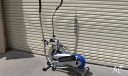 Lose weight and get fit Orbitrek elite cross trainer In