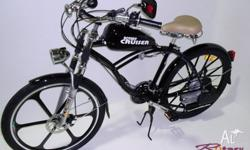 Quality Rotary Cruiser motorised bicycle.100% road