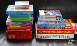 Selling 11 children's board games. Some are well used,
