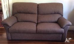 3 seater lounge and matching recliner. Made in