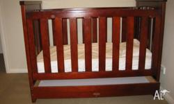 "Love n Care 3 in 1 ""Florida"" cot. Converts from cot to"