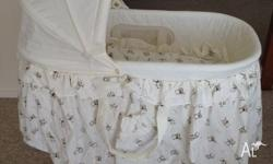 Love n Care baby bassinet with a minor issue: one of