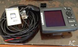 Fish finder GPS combo sounder - very good condition
