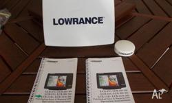 This Lowrance Plotter/Sounder is a LCX-112C and is in