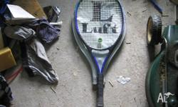 Luft Childs Tennis racquet or adult half racquet with