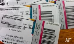 13 tickets to 'I worry that I worry' Comedy Festival