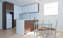 It is a beautifully designed apartment, modern kitchen,