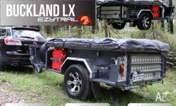 BUCKLAND : LX� Camper Trailer � DL230 Tent Package