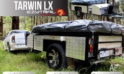 Luxury locker style Camper Trailer package :Tarwin LX