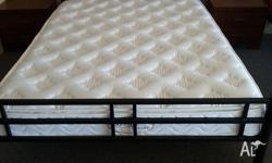 Double Bed Size Luxury Quality Pillowtop Mattress With