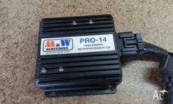 I have a M&W PRO 14 Ignition CDI with 4* M&W CDI Coils
