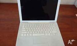 "White, 13"" screen, 2.16GHz Intel Core Duo processor,"