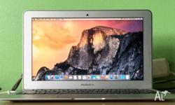 Macbook Air 11-inch 64G SSD like new condition selling