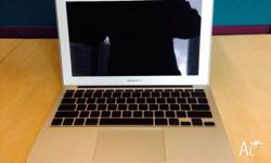 Hi there. selling my macbook air 11.6 inch late 2010