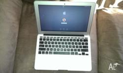 "For sale is a barely-used MacBook Air 11"", with the"