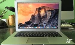 Macbook Air 13-inch 256G SSD great condition selling