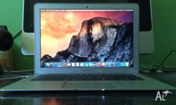 Macbook Air 13-inch 2.8G i5 4G Ram 128G SSD intel