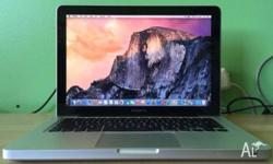 Macbook Pro 13-inch intel i5 2.3G quad core 8G DDR3 Ram