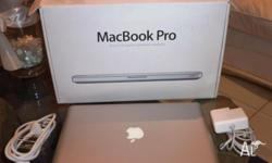 "MACBOOK PRO 13"" 2.4 GHZ i5 4 GIG RAM 500 HDD 2012 MODEL"