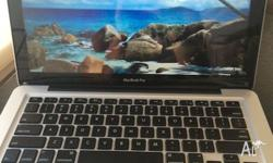 "Hi There, I have a Macbook pro for sale. 13"" 2.4GHz"