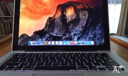 "Macbook Pro 13"" Mid 2009 See pics for details. Battery"