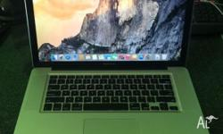 Macbook Pro 15-inch i5 2.6G 4G DDR3 500G new battery
